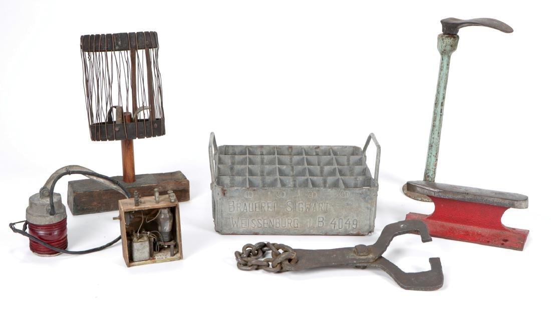 Gentleman's Collection of Railroad/Industrial Metal