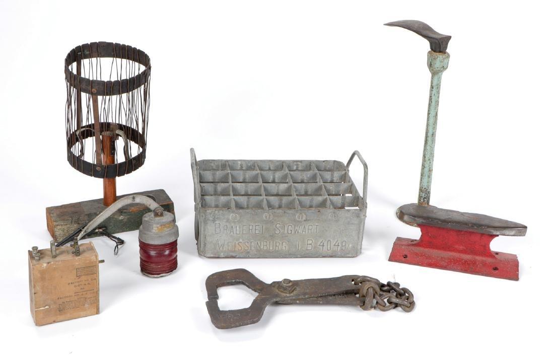 Gentleman's Collection of Railroad/Industrial Metal - 2