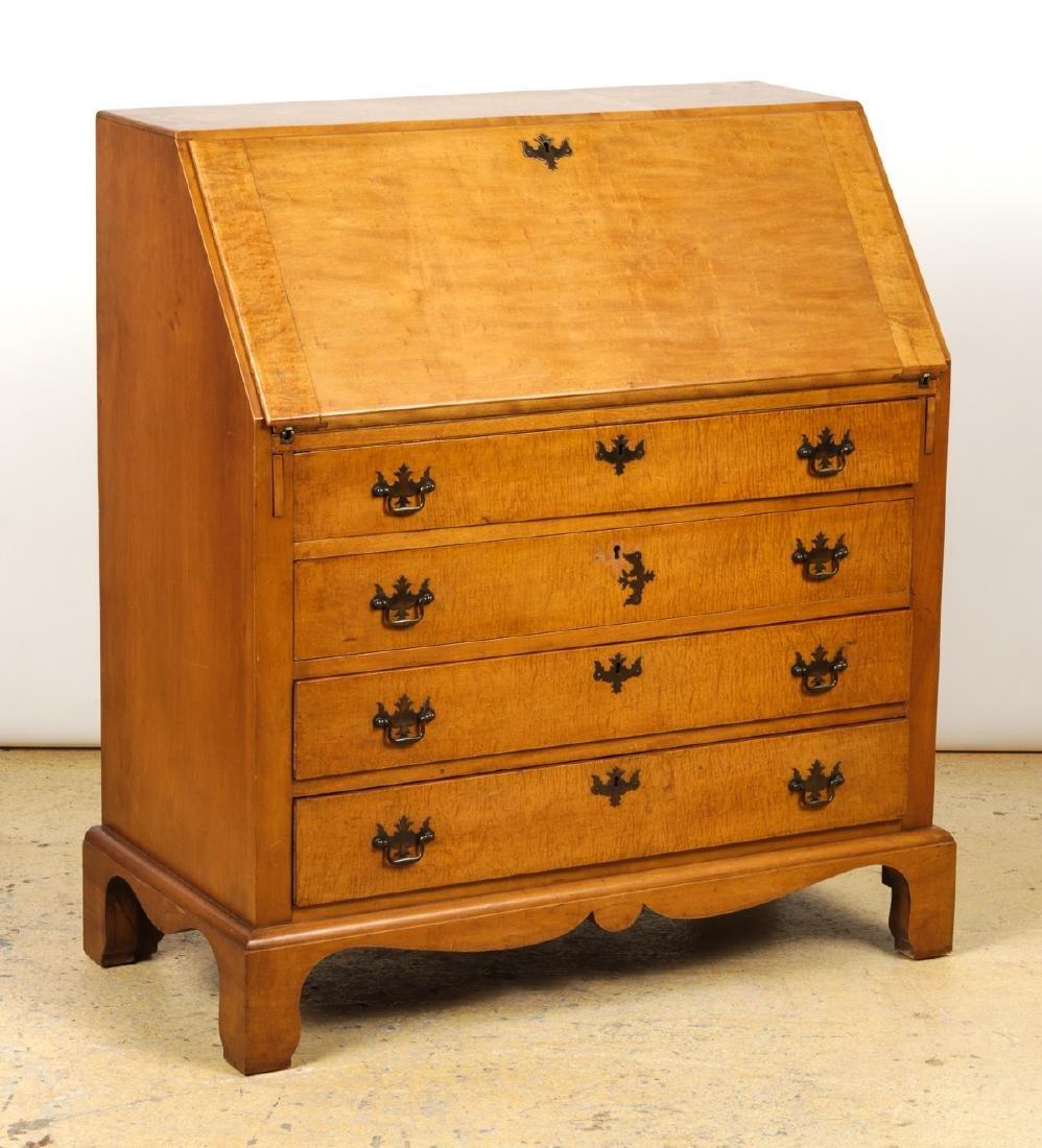 Irion Company Slant Front Maple Desk - 2