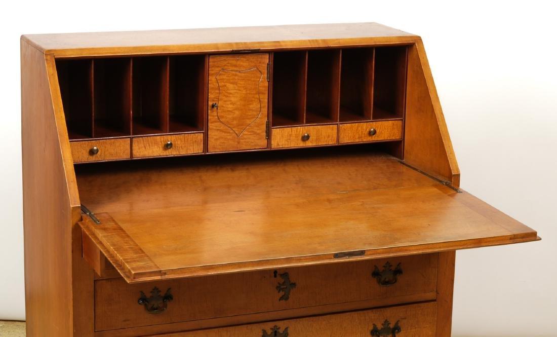 Irion Company Slant Front Maple Desk - 3