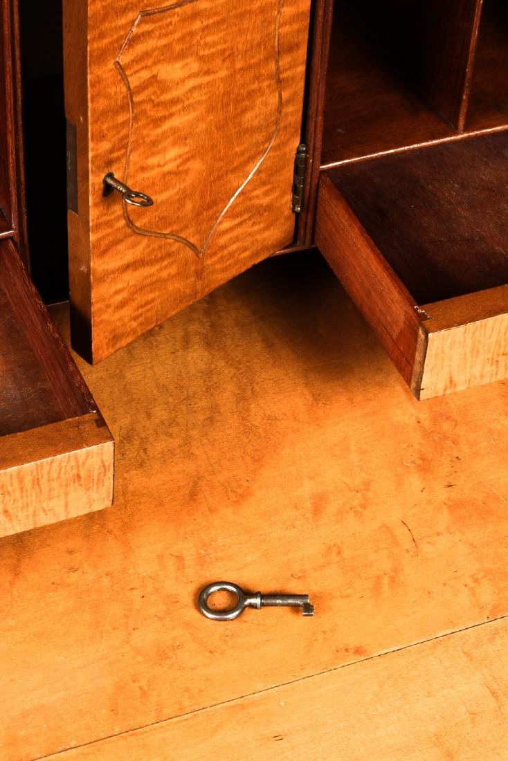 Irion Company Slant Front Maple Desk - 4