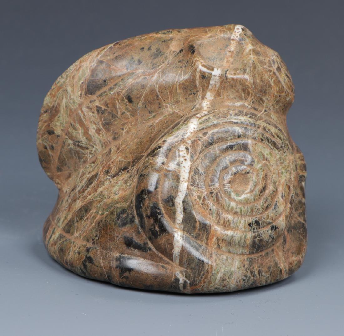 Taino Toucan Cemi/Stamp (1000-1500 CE) - 4