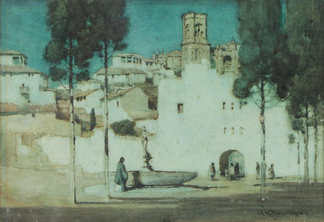 Albert Moulton Foweraker (1873-1942) Landscape