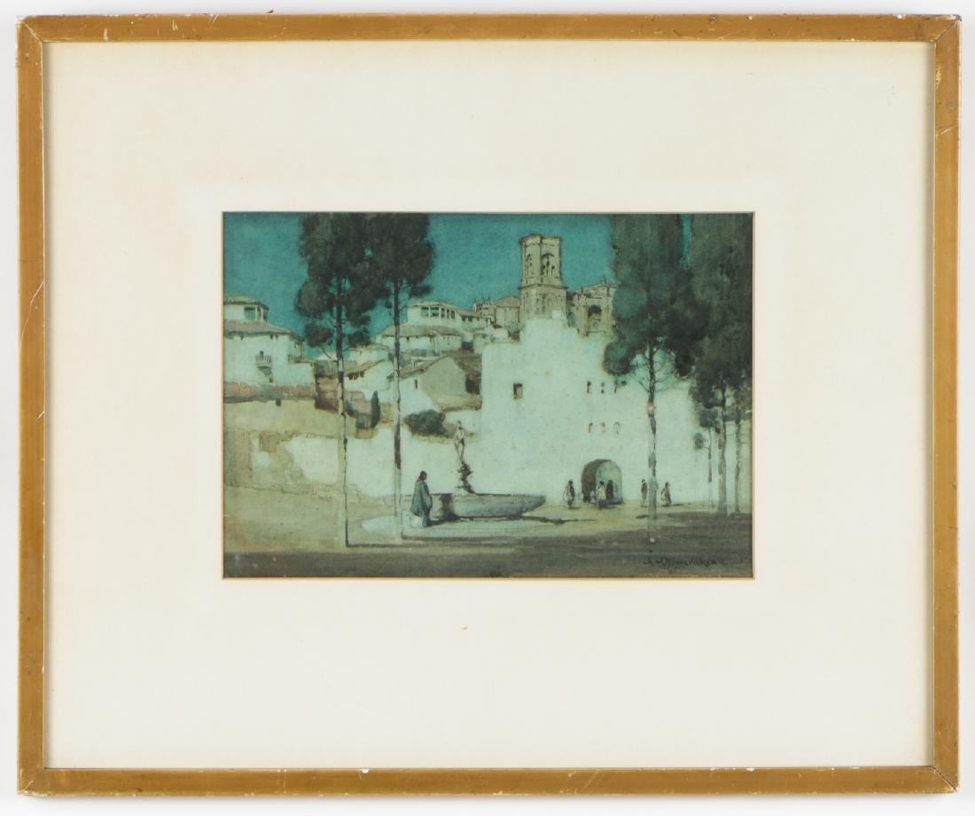 Albert Moulton Foweraker (1873-1942) Landscape - 2