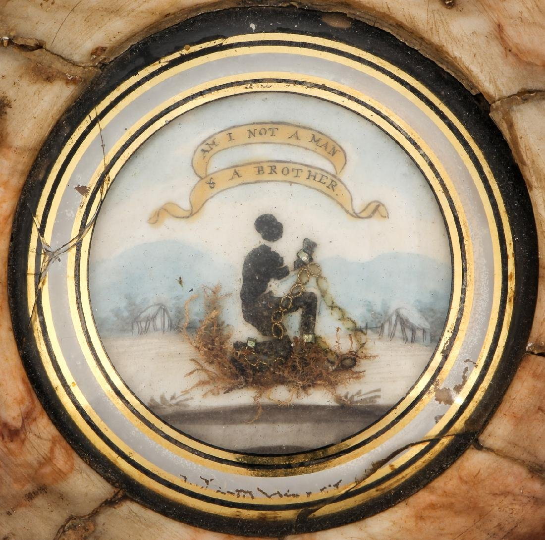 Rare 19th C. Wedgewood Anti-Slavery Plaque - 2