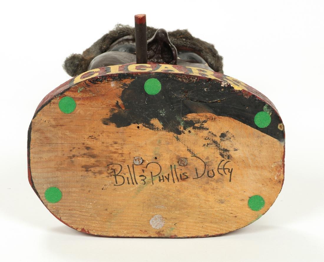 Bill & Phyllis Duffy Folk Art Figure/Cigar Trade Sign - 5