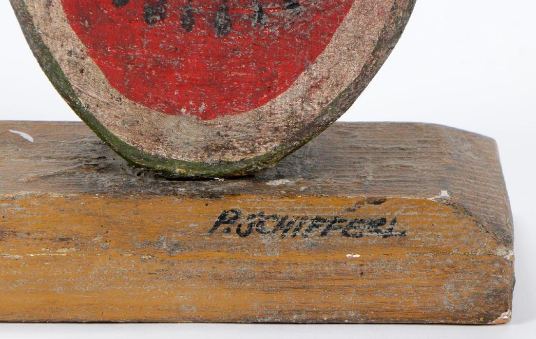Vintage Carved and Painted Wood Bo Jangles Figure - 6