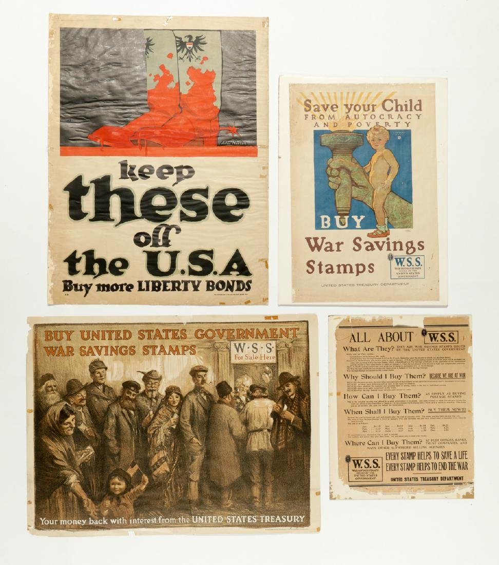 4 WWI Era Posters