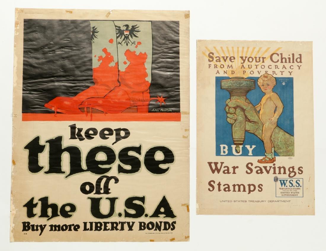 4 WWI Era Posters - 3