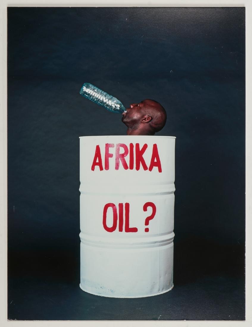 "Barthelemy Toguo (Cameroon, b. 1967) ""Afrika Oil"" - 2"
