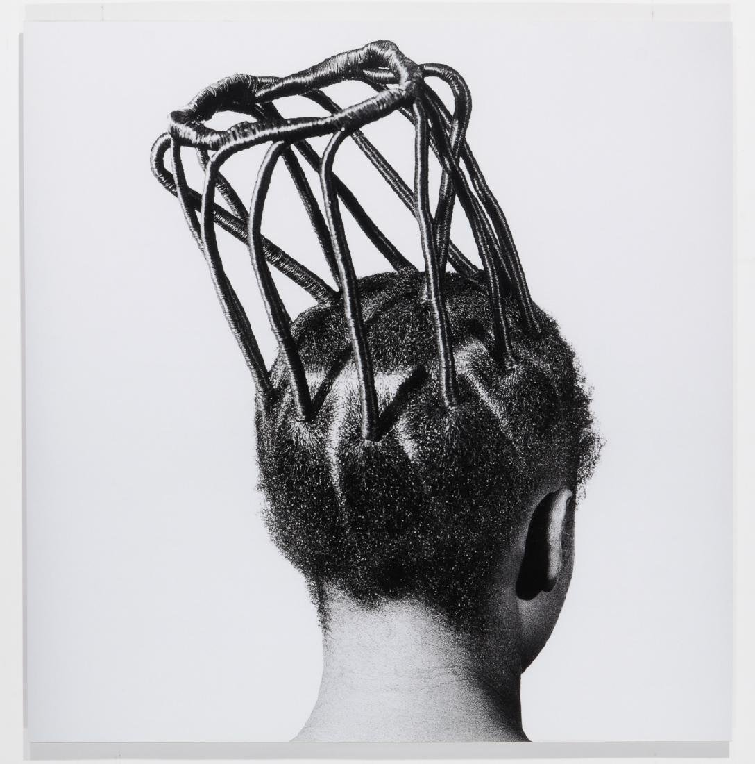 J.D. Okhai Ojeikere (Nigerian, 1930-2014) Hairstyles - 2