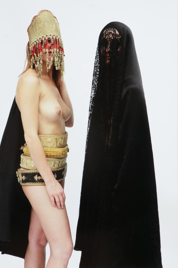 "Majida Khattari (Moroccan, b. 1966) ""Les Parisennes"""