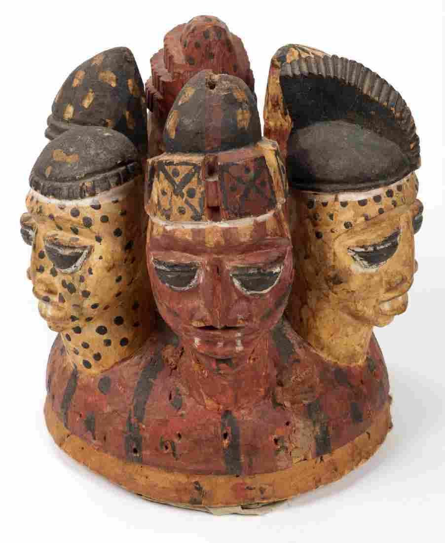 Yoruba Ere Headdress, Nigeria