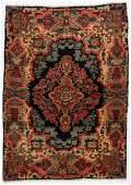 Semi-Antique Sarouk Rug: 3'5'' x 4'10''