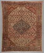 Antique Sultanabad Rug: 9'1'' x 11'5''
