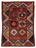 Antique Bordjalou Kazak Rug, Caucasus: 5'1'' x 6'11''