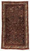 Large Antique Kuba Rug, Caucasus: 6'2'' x 10'5''