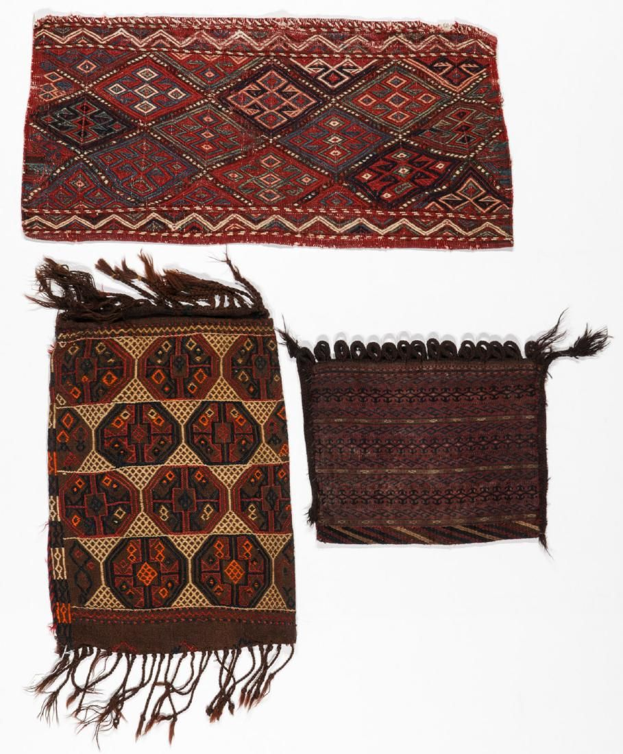 3 Antique Nomadic Trappings