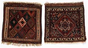 2 Antique Persian Bagfaces