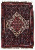 Semi-Antique Bidjar Kilim, Persia: 3'10'' x 5'5''