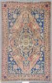 Semi-Antique Sarouk Rug: 6'7'' x 10'2''