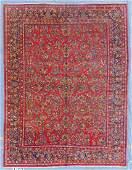 Semi-Antique Sarouk Rug: 10'5'' x 13'8''