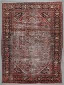 Antique Mahal Rug, Persia: 9'5'' x 12'9''