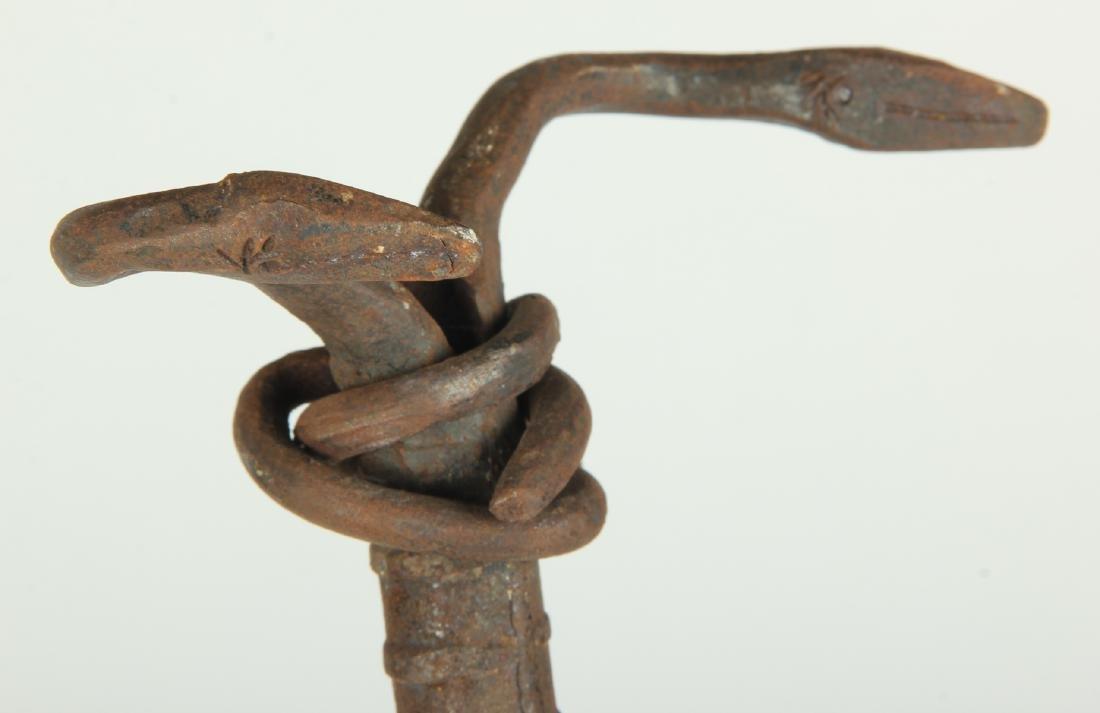 School of Liautaud (Haitian) Snake Cross - 3