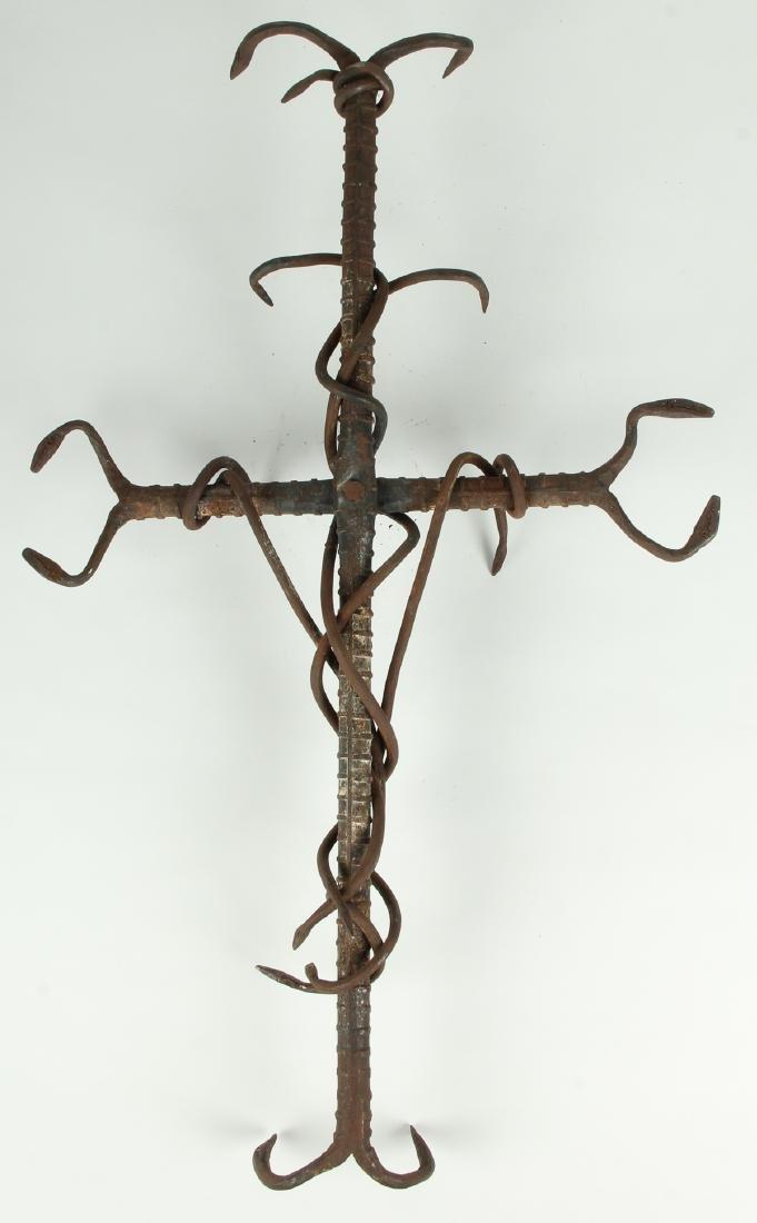 School of Liautaud (Haitian) Snake Cross - 6