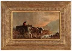 Joseph R. Evans Jr. (19th c.) Landscape Painting