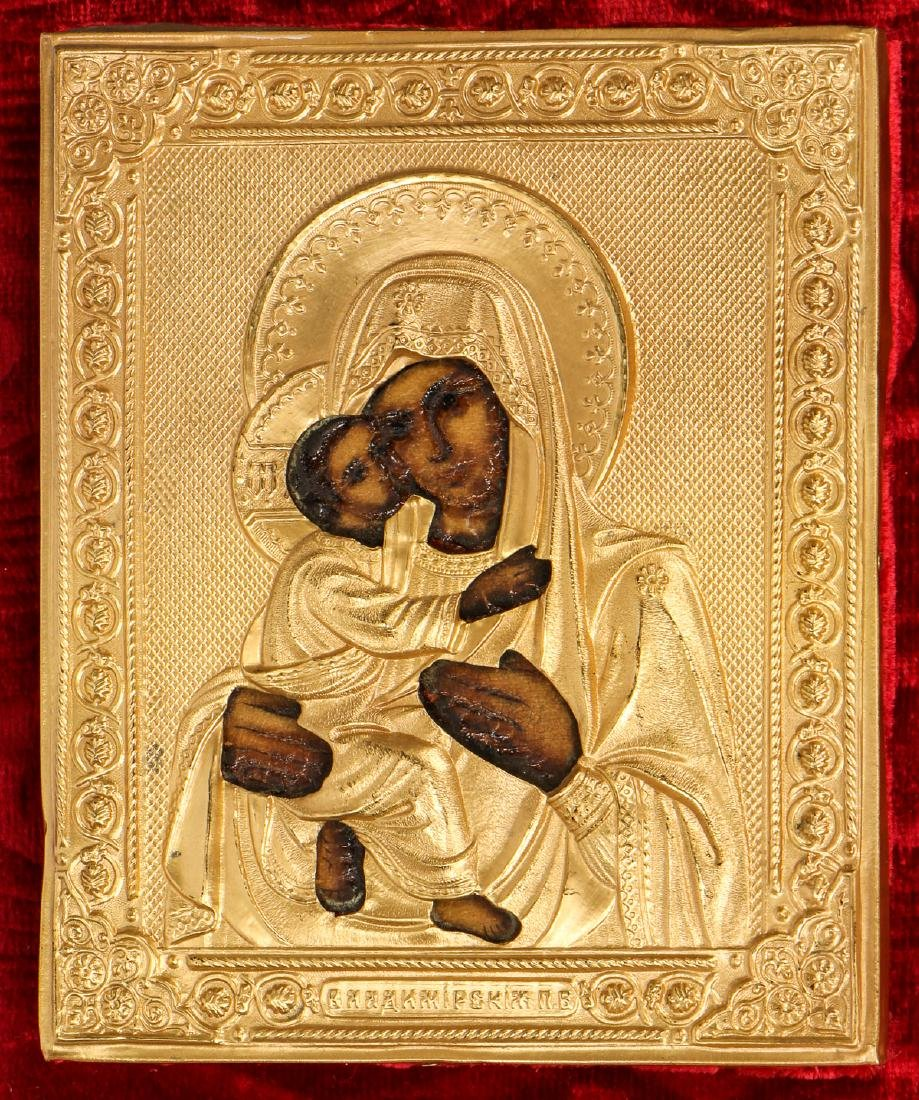 Fine Russian Mother of God Icon
