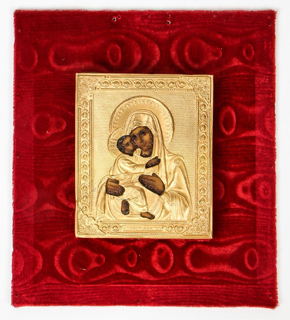Fine Russian Mother of God Icon - 2