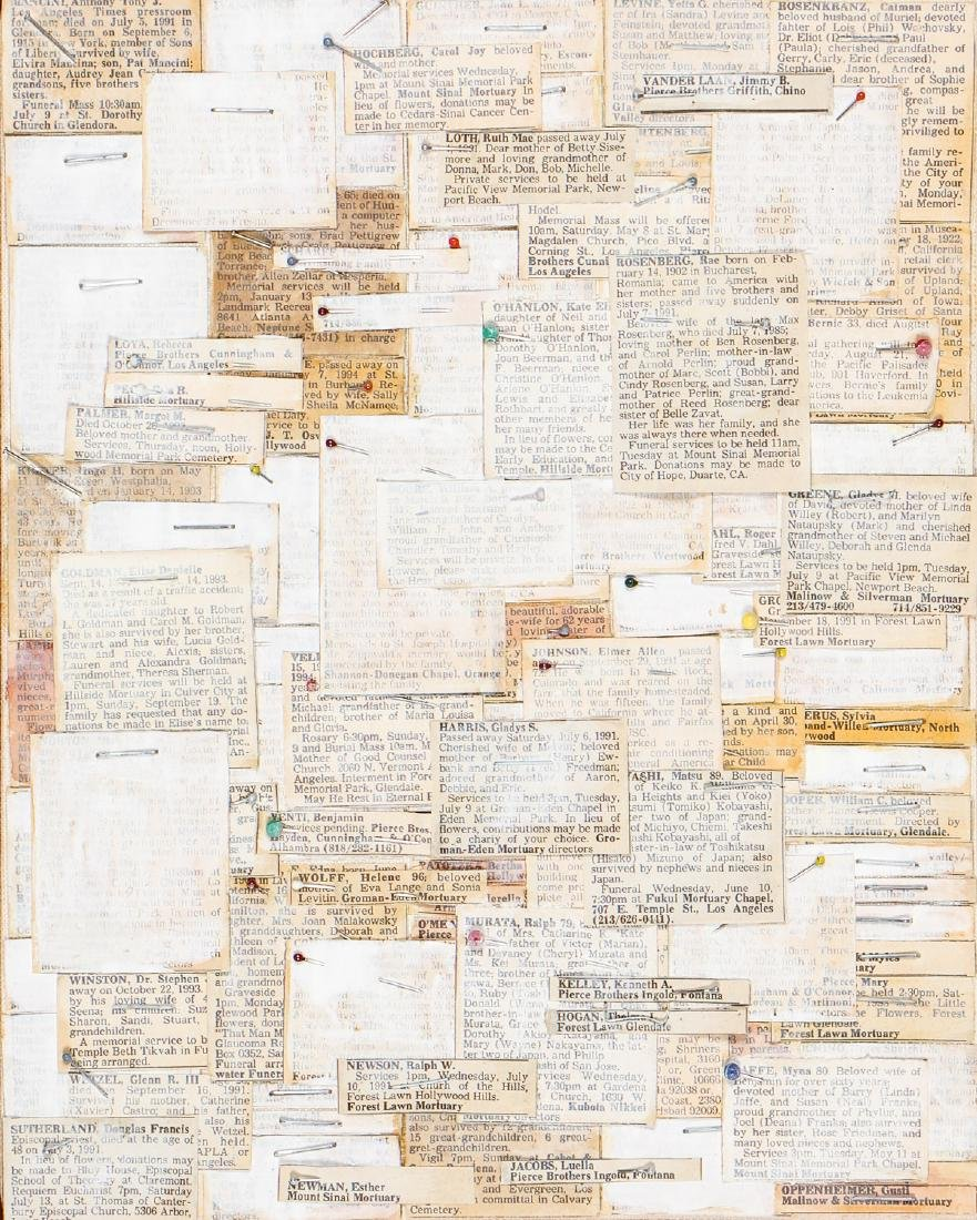 Kevin Miller (American, 20th c) Untitled
