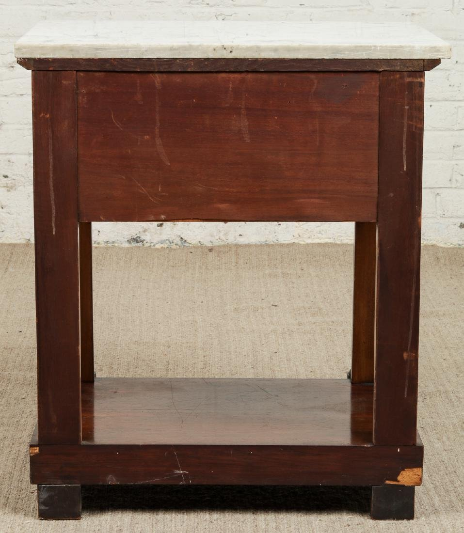Continental Marble Top Side Table - 3