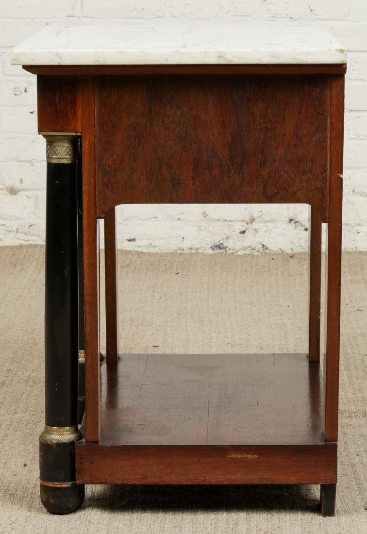 Continental Marble Top Side Table - 4