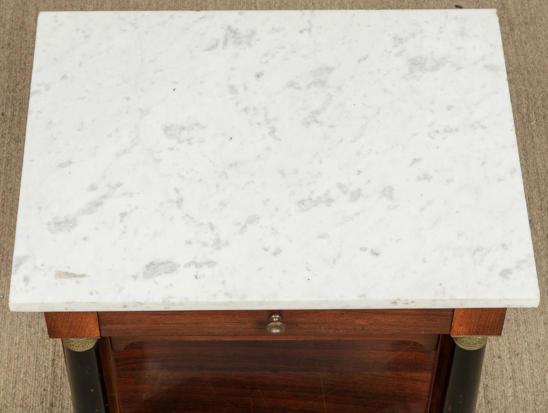 Continental Marble Top Side Table - 6
