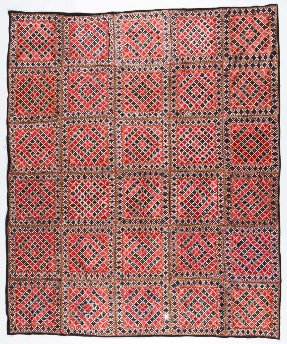 Lot of old Indian/Pakistani embroidered textiles - 2