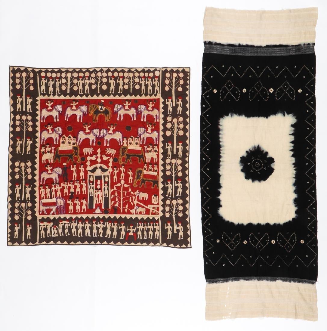 2 Indian Textiles: Kanduri and Bandhani