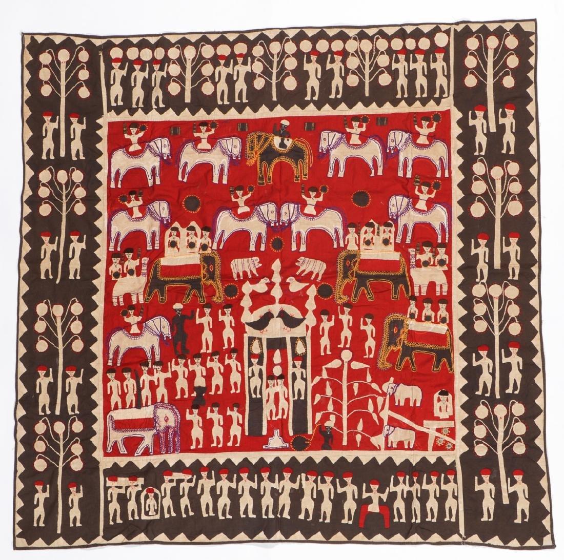 2 Indian Textiles: Kanduri and Bandhani - 2