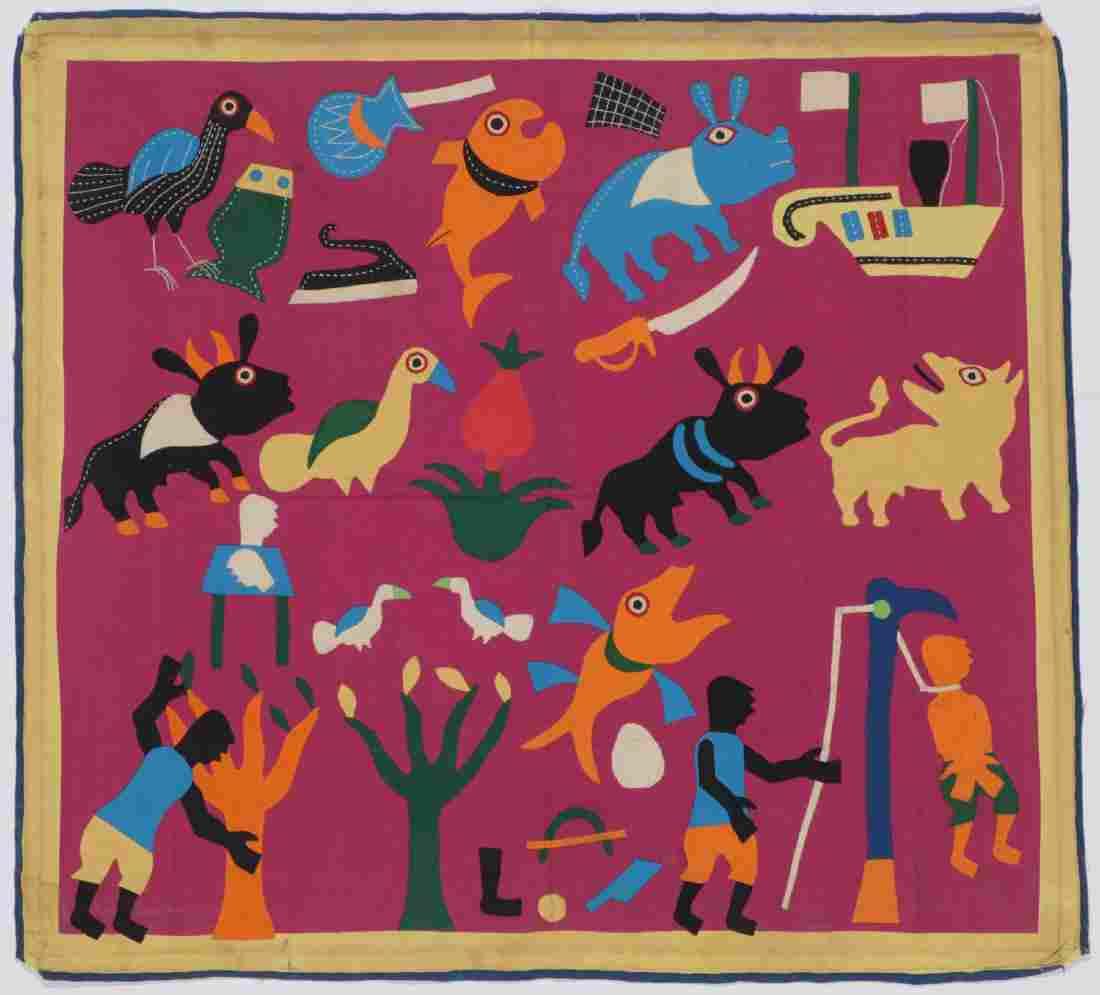 African Anti-Colonial Folk Tapestry, Benin