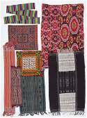 Estate Lot of Mixed Ethnographic Textiles