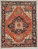 Antique Serapi Rug, Persia: 12'9'' x 16'2''