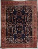 Vintage Mahajaran Sarouk Style Rug, India: 7'11'' x