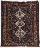 Antique Gashgai Rug Persia 50 x 59