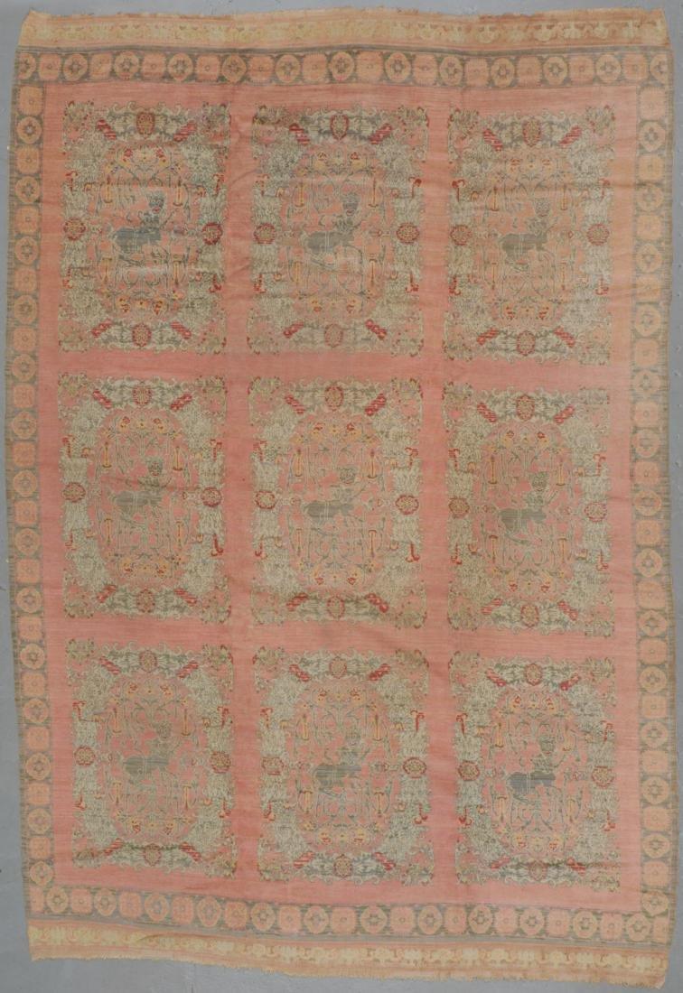 Antique Spanish Rug, Spain: 9'10'' x 14'3''