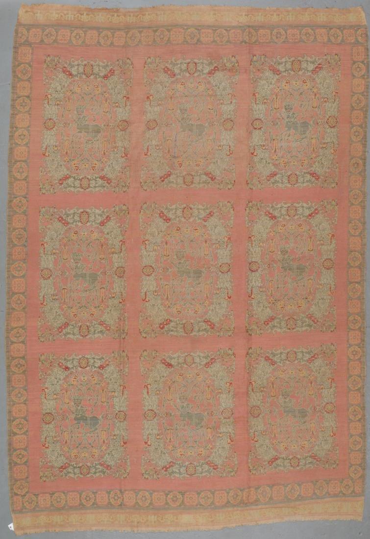 Antique Spanish Rug, Spain: 9'10'' x 14'3'' - 6