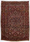 Antique Baktiari Rug, Persia: 7'1'' x 10'1''