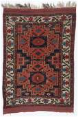 Antique Afshar Rug, Persia: 3'11'' x 5'7''
