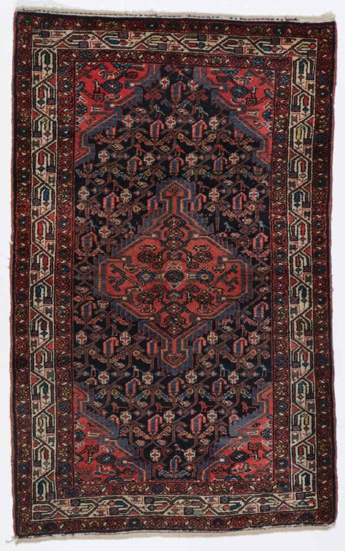 Antique Malayer Rug, Persia: 3'2'' x 5'0''