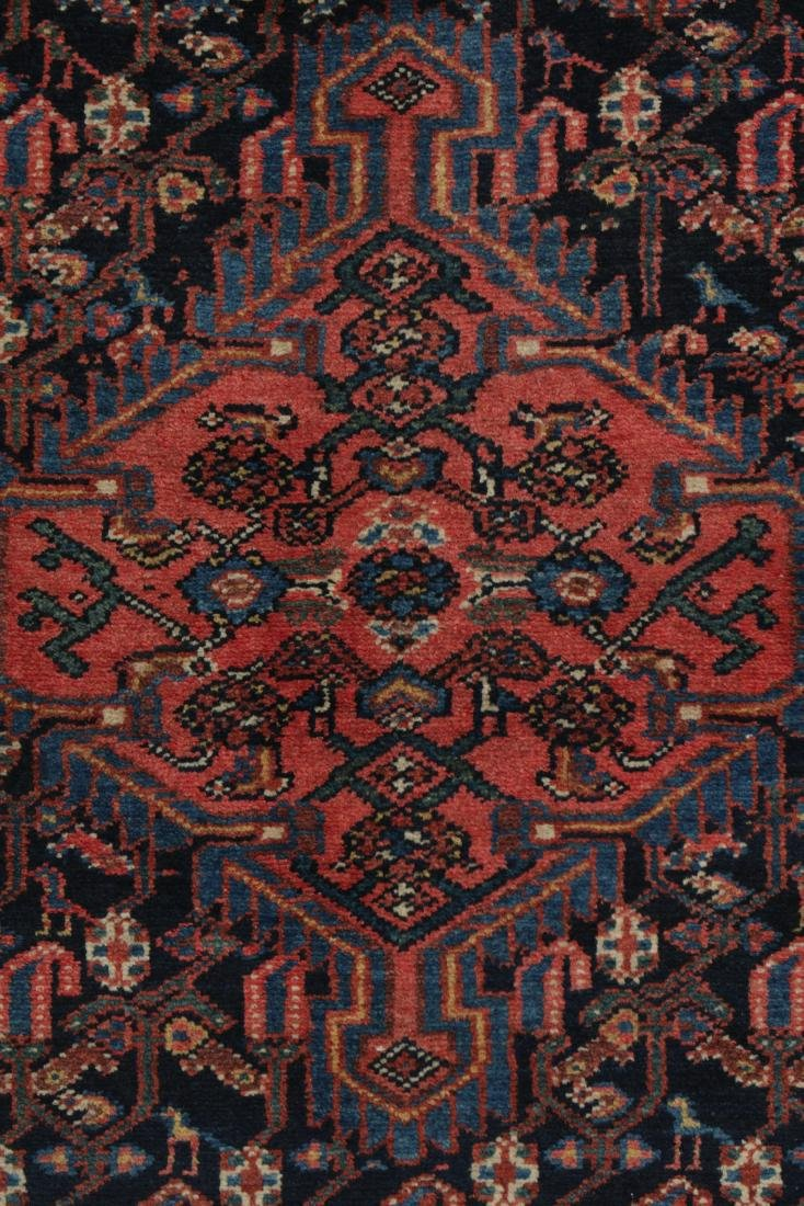 Antique Malayer Rug, Persia: 3'2'' x 5'0'' - 2